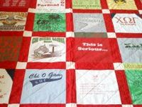 t-shirt quilts and stuff