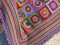Blankets / Couvertures - crochet