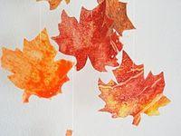 Preschool Leaves
