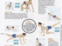 leg workout women