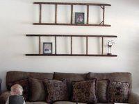Decorating: crib, narrow desk,