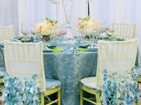 Table Design - Linens & Chairs