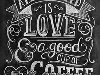 chalkboard art & quotes