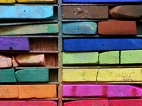 Inspiration for the color fanatic in me!