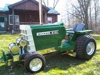 Tractors in the J yard
