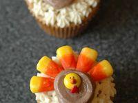 Cupcakes thanksgiving