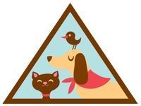 Brownie Girl Scouts Pets Badge