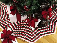 Crochet Christmas Trees, Tree Skirts, Wreaths