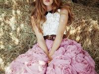 Satin, lace, organza......beautiful dresses