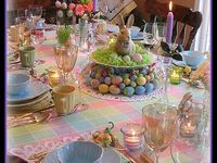 Easter tablescapes ...