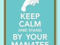 Manatees!!