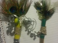 Shotgun shell boutonnieres for K! From The Wishing Factory