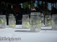 Glasswares, Jars, Votires, Mason Jars, Wine Bottles, etc!
