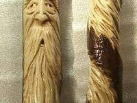Walking Sticks & Wood Spirits