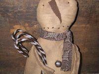 Primitive dolls and Sculptures