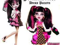 MONSTER HIGH - SEWING FREE