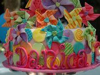 Children' cakes and cupcakea