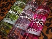 Bath and body works products.