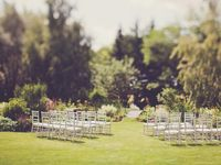 Ideas for your ceremony seating, decor an altar