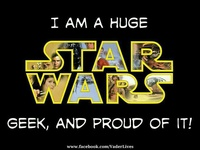 My love for everything Star Wars.   Do or do not. There is no try.