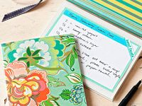 Recipe Cards & Cookbook Making Ideas