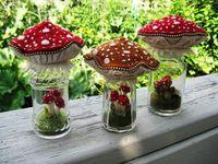 Delightful mushrooms...toadstools...fungi...to love.