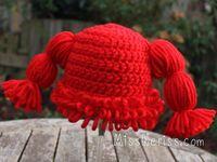 Cabbage patch hat pattern - halloween