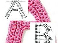 Lettres et chiffres - crochet