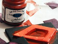 making stamps and stencils