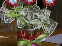 Gifts-made out of money