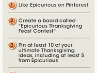 Epicurious Thanksgiving Feast Contest