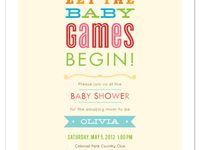 baby shower stuff