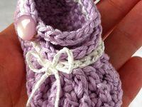 Crochet - baby booties