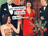 Here at Wine : Taste, we are fans of gay marriage and love to help our guests with their preparation and planning!  Let us know how we can assist and remember we offer case discounts & special orders!
