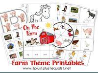 Farm Animals:  General Ideas