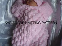 Baby knits and sewing