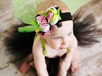 Hair bows, fabric flowers, headbands...Oh My!