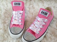 Bedazzled Converse Chuck Taylors