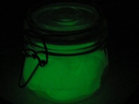 Glow in the dark party