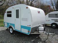 Vintage campers Scotty, Sprite, Safari
