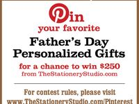 The Stationery Studio Father's Day Contest
