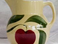 Vintage Watt Apple Dishes