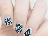 Cute aztec nail designs