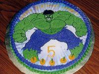 Incredible Hulk Cakes