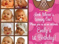 Alliahs first birthday/photos