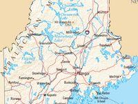 Maine, born on Peaks Island, Maine