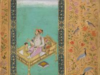 Indian, Mughal and Persian miniature Painting