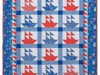 Summer quilt patterns, picnic quilts, and beach quilts