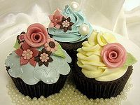 Cupcakes, frostings,and cupcake tutorials.