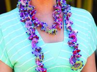 Jewelry with Fiber